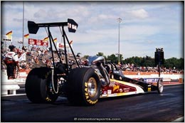 CCI Motorsports First Dragster From Precision Chassis