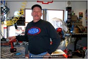 Frank Patille At Home In The CCI Motorsports Shop
