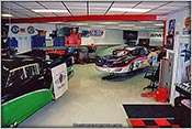 The shop filled with CCI Motorsports race cars