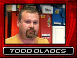 Todd Blades  Fabrication Specialist, ccimotorsports.com